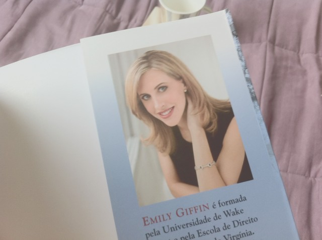 Emily Giffin, a autora.