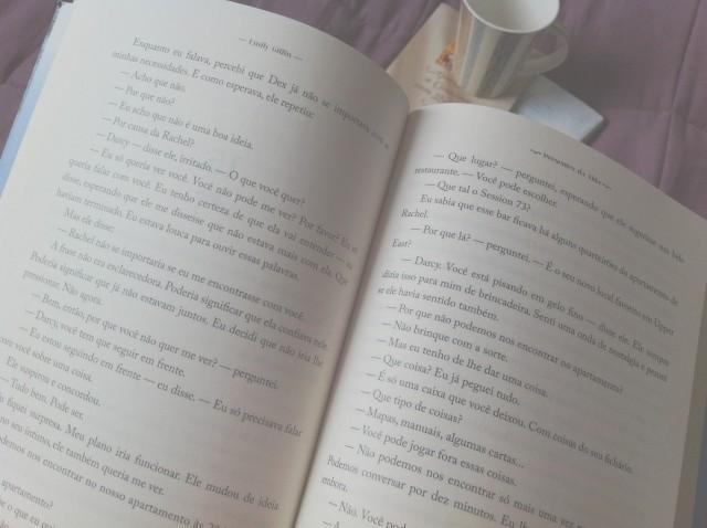 As páginas são amareladas ❤